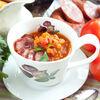 Фото к позиции меню Чечевичный суп