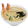 Фото к позиции меню Сливочный суп с креветкой