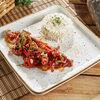 Фото к позиции меню Лаосская говядина с рисом