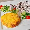 Фото к позиции меню Нежная отбивная с соусом дижон под сыром