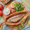 Фото к позиции меню Форель фаршированная с помидорами и тархуном