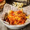 Фото к позиции меню Картофель фри с пряной колбаской