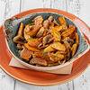 Фото к позиции меню Картофель по-домашнему с грибами и луком
