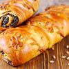 Фото к позиции меню Пирог с маком и грецким орехом