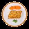 Фото к позиции меню Рыба красная с овощами по-русски