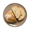 Фото к позиции меню Хлеб половинка бездрожжевой
