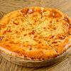 Фото к позиции меню Пирог с курицей, сыром и картошкой