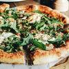 Фото к позиции меню Пицца с грибами и рукколой