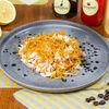 Фото к позиции меню Салат из индейки с картофелем пай