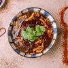 Фото к позиции меню Суп кисло-острый с курицей и креветками
