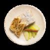 Фото к позиции меню Штрудель яблочный от шеф-пекаря Ав
