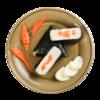 Фото к позиции меню Онигири с копченым лососем