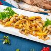Фото к позиции меню Картофель с грибами