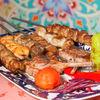 Фото к позиции меню Ассорти из узбекских шашлыков