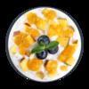 Фото к позиции меню Каша рисовая с манго
