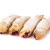 Фото к позиции меню Рогалики с сезонными ягодами