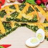 Фото к позиции меню Пирог со шпинатом