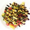 Фото к позиции меню Салат с печёными баклажанами