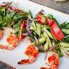 Фото к позиции меню Острый тайский салат с креветками