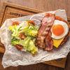 Фото к позиции меню Завтрак Французский с томатным соусом