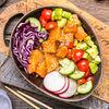 Фото к позиции меню Поке с лососем севиче