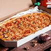Фото к позиции меню Пицца Вегетарианская полуметровая