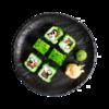 Фото к позиции меню Ролл Азбука Вкуса с копченым лососем и творожным сыром
