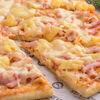 Фото к позиции меню Пицца с ананасом и ветчиной