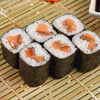 Фото к позиции меню Классический ролл с лососем