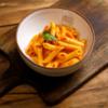 Фото к позиции меню Макарошки с сыром и томатным соусом