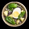 Фото к позиции меню Салат с яйцом и авокадо