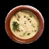 Фото к позиции меню Белые грибы в сливочном соусе в горшочке от бренд-шефа Ав