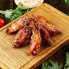 Фото к позиции меню Куриные крылышки Барбекю