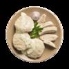 Фото к позиции меню Котлеты из мяса птицы паровые