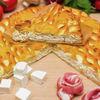 Фото к позиции меню Пирог с брынзой и беконом