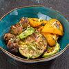 Фото к позиции меню Овощи гриль с чесночным маслом