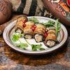 Фото к позиции меню Баклажаны фаршированные с орехами