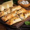 Фото к позиции меню Самса с сыром и зеленью