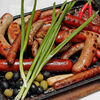 Фото к позиции меню Ассорти румяных колбасок на компанию