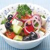 Фото к позиции меню Салат овощной с сыром фета