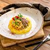 Фото к позиции меню Бефстроганов из говядины с картофелем и грибами
