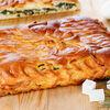 Фото к позиции меню Пирог с шпинатом и брынзой
