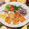 Фото к позиции меню Шашлык из лосося