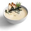 Фото к позиции меню Сливочный суп с угрем