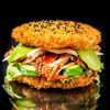 Фото к позиции меню Суши-бургер Японский