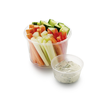 Фото к позиции меню Салат Овощи Mix