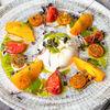 Фото к позиции меню Салат Буррата с томатами