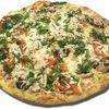 Фото к позиции меню Пицца Чесночный цыпленок