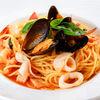 Фото к позиции меню Спагетти с морепродуктами