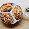 Фото к позиции меню Микс корейских салатов №1